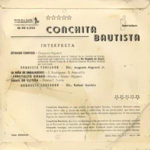 Conchita Bautista - Toreador (Iberofón)IB-45-2.023
