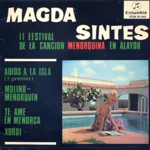 Sintes, Magda - ColumbiaSCGE 81045