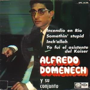 Alfredo Domenech Y Su Conjunto - La Voz De Su Amo (EMI)EPL 14.379