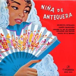 Niña De Antequera - ColumbiaECGE 70937