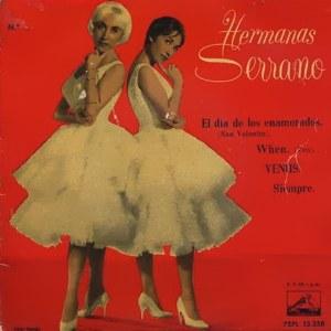 Hermanas Serrano - La Voz De Su Amo (EMI)7EPL 13.358