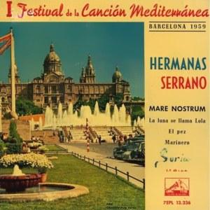 Hermanas Serrano - La Voz De Su Amo (EMI)7EPL 13.336