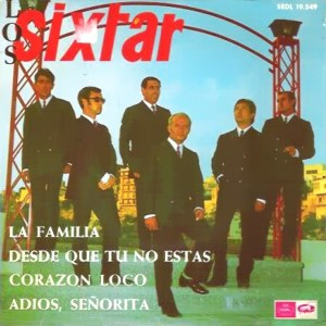 Sixtar, Los - Regal (EMI) SEDL 19.549