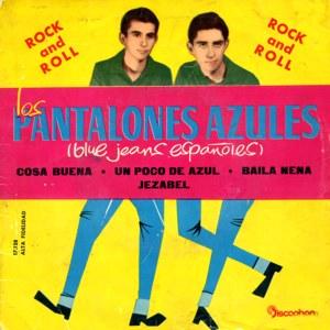 Pantalones Azules, Los - Discophon17.128
